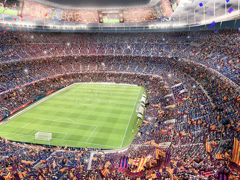 9+ Fc Barcelona Stadium Renovation