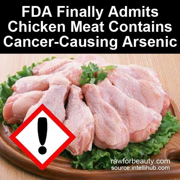 Us Government Admits Chicken Meat Contains Cancer Causing Arsenic