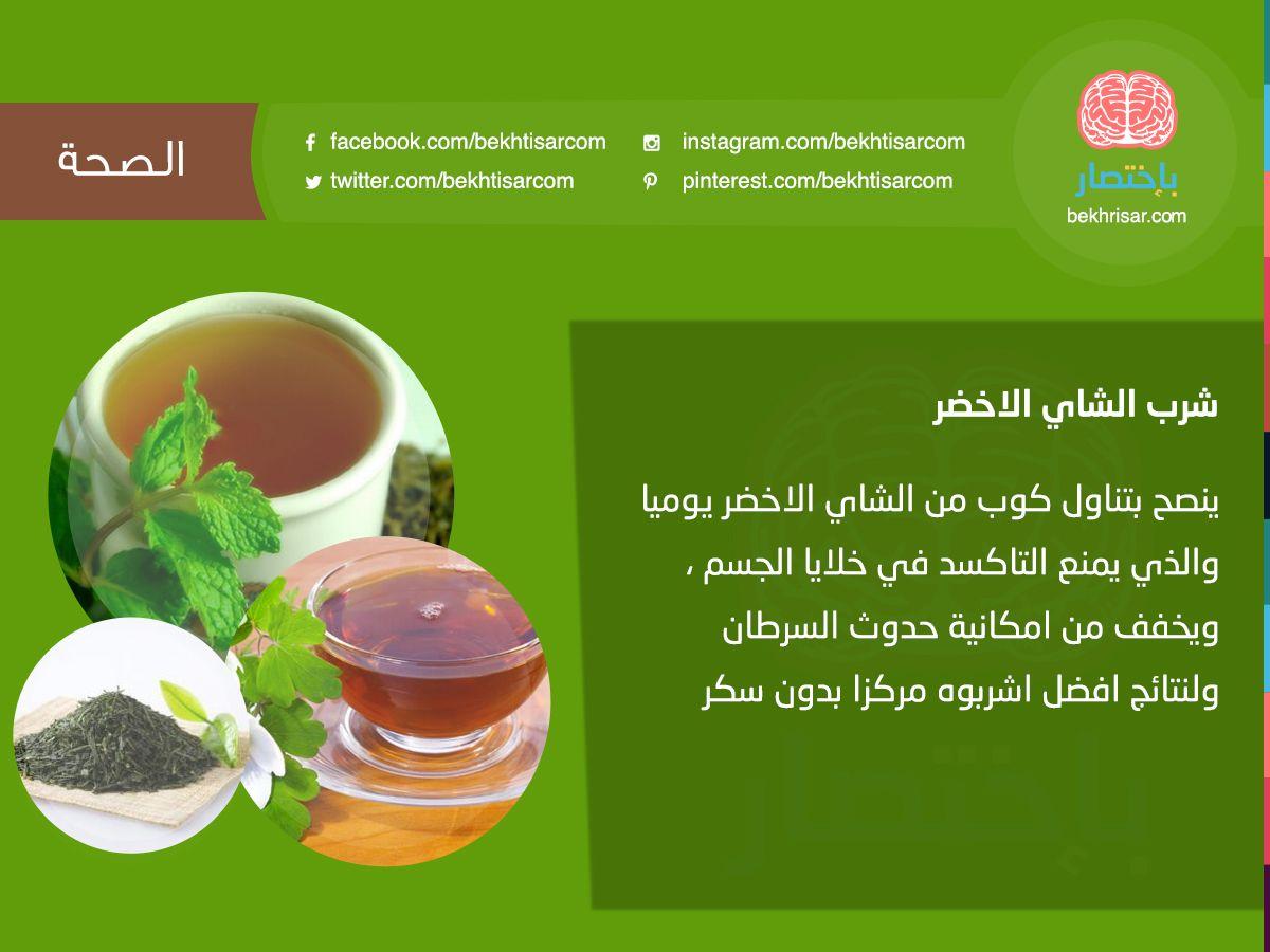 شرب الشاي الأخضر باختصار الصحة الطب معلومة هل تعلم فوائد الشاي شرب الاخضر معلومات صحية Instagram