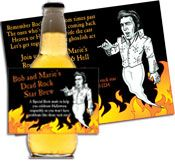 personalized dead rock star invitation #rockstarparty