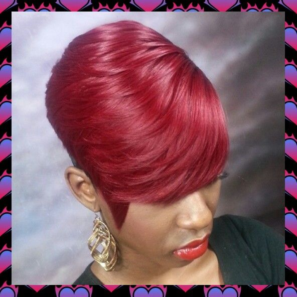 .love the color, WHAT WHAT? #27piecehairstyles