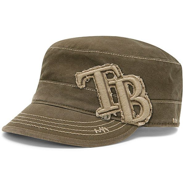 Tampa Bay Rays  47 Women s Lady Linden Military Adjustable Hat - Tan -   17.99 ec8801b9c