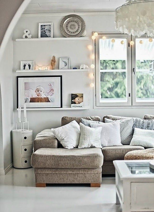 Rooms: Natural Earthy Tones In The Living Room