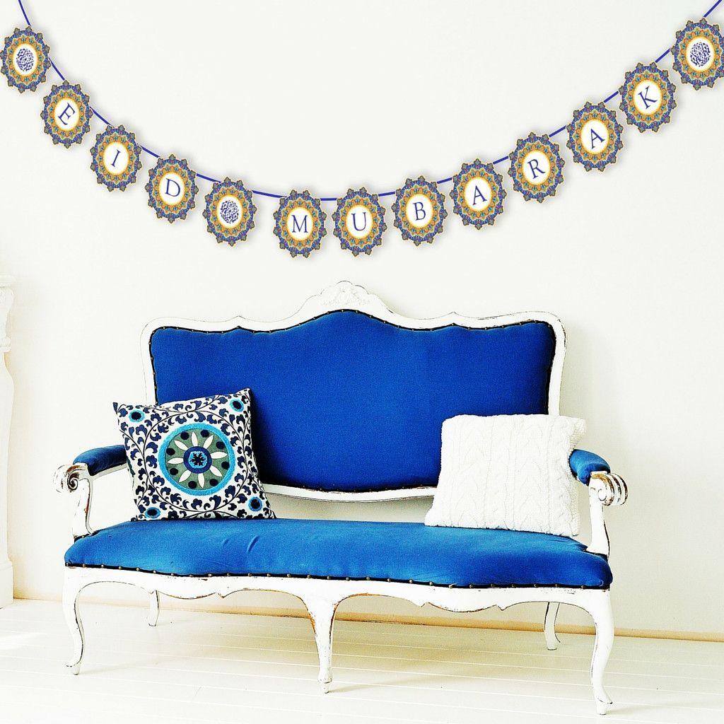 Eid Decor - Eid Mubarak Banner   Eid mubarak, Eid and Banners   eid furniture