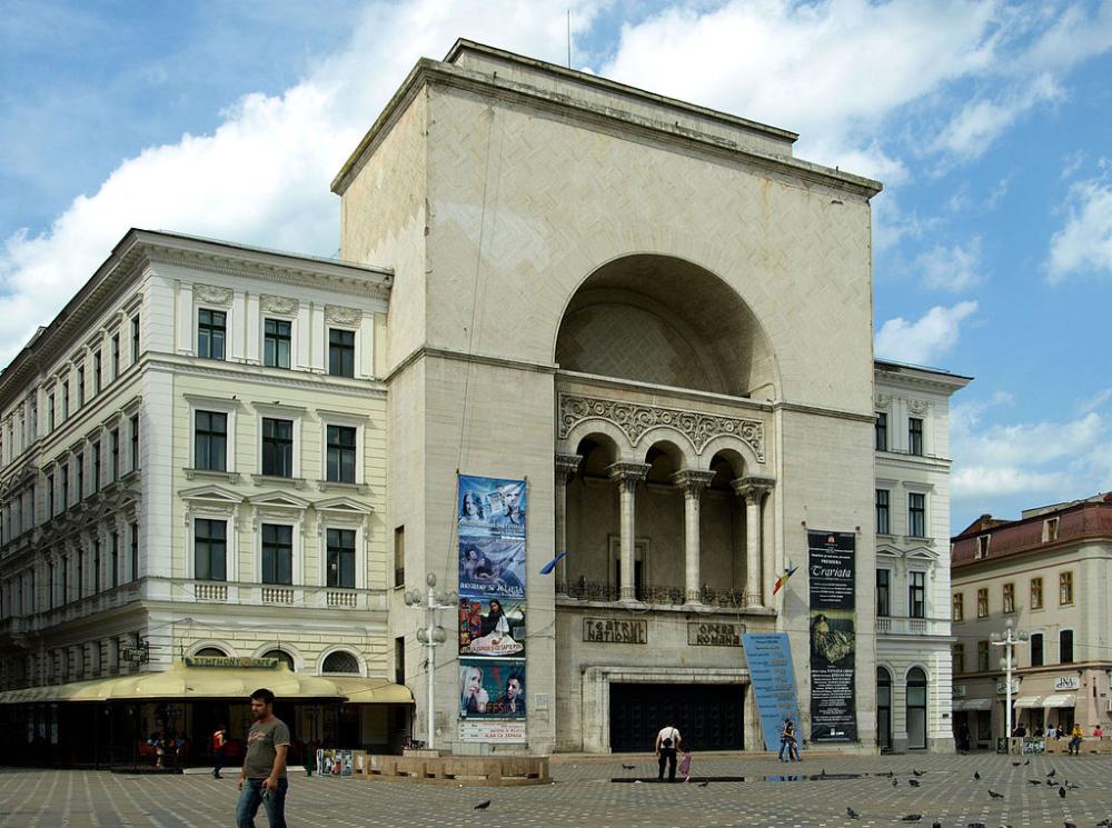 Opera Din Timișoara Teatrul Național Mihai Eminescu Fellner Helmer Wikipedia Kecskemet Cluj Napoca Oradea