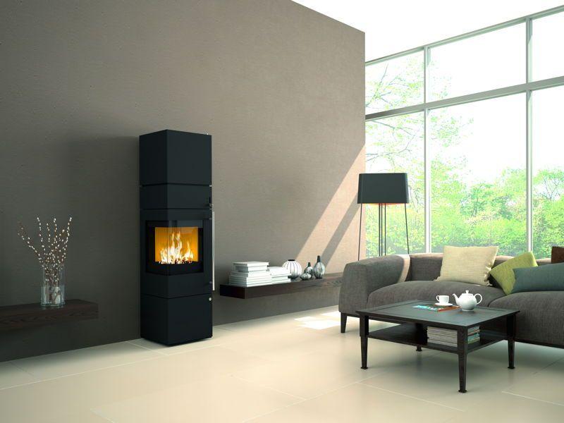 Design-Kamin-Ofen OLSBERG Ipala Compact Standkamin, Stahlkamin - ofen für wohnzimmer