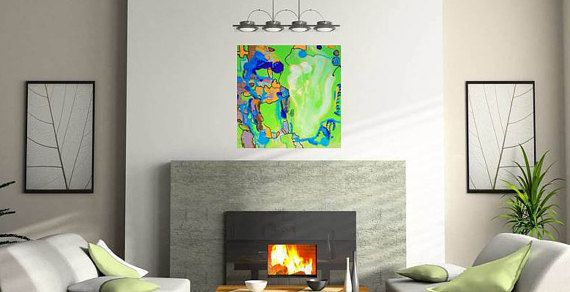 Large Abstract Painting On Canvas Abstract Painting Original Beauteous Living Room Paintings Decorating Inspiration
