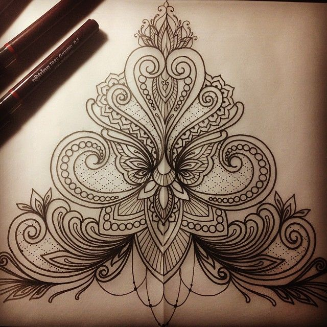 "913 Likes, 22 Comments - Dominique Holmes (@domholmestattoo) on Instagram: ""Lace inspired design for Micky this week. #tattoo #ink #tattoodesign #design #drawing #art #sketch…"""