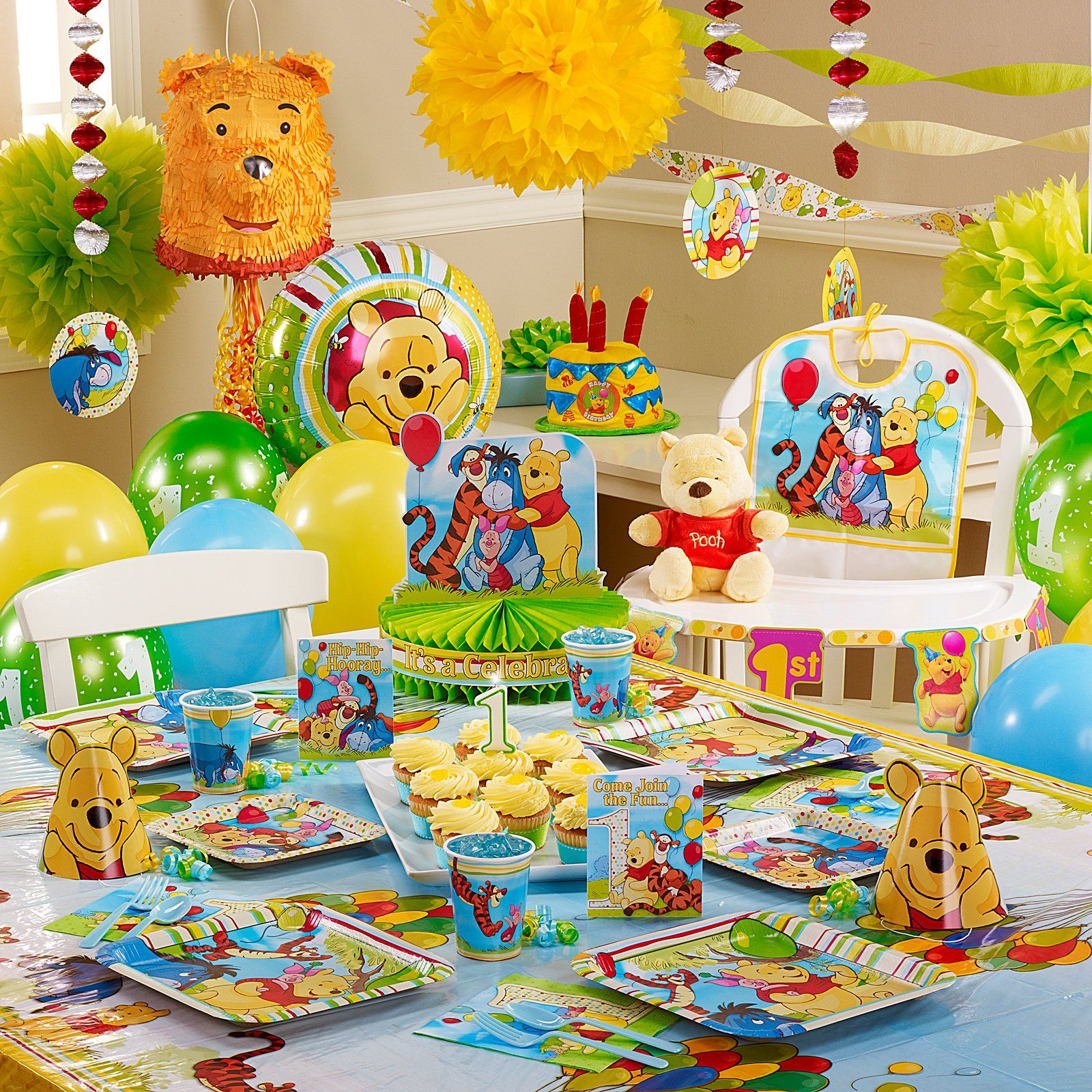 httpwwwbirthdayexpresscomDisneyPoohandPals1stBirthday