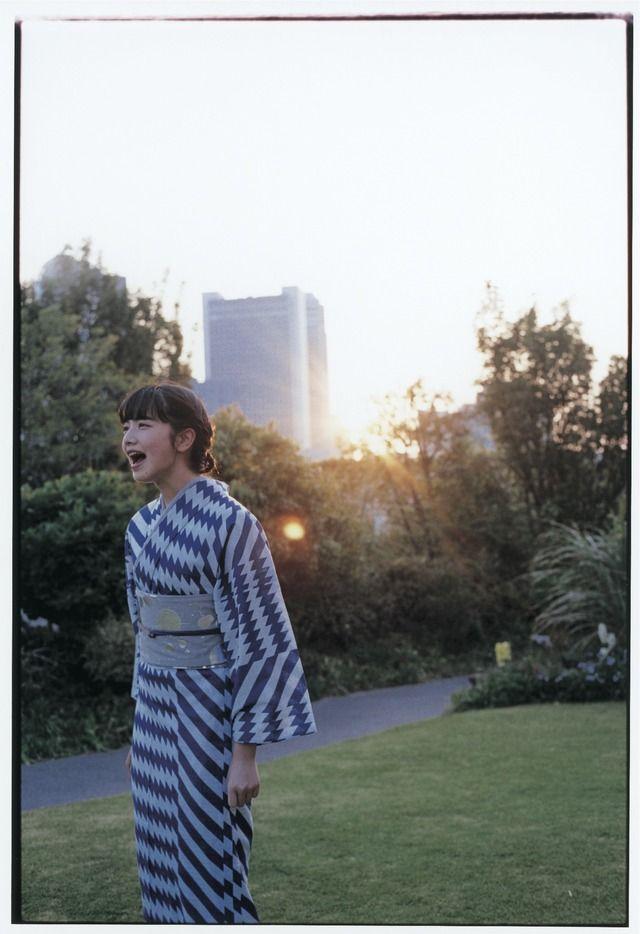 浴衣に新しさを。アンリアレイジ、ミントが「らしい」浴衣を新宿伊勢丹で披露 4枚目
