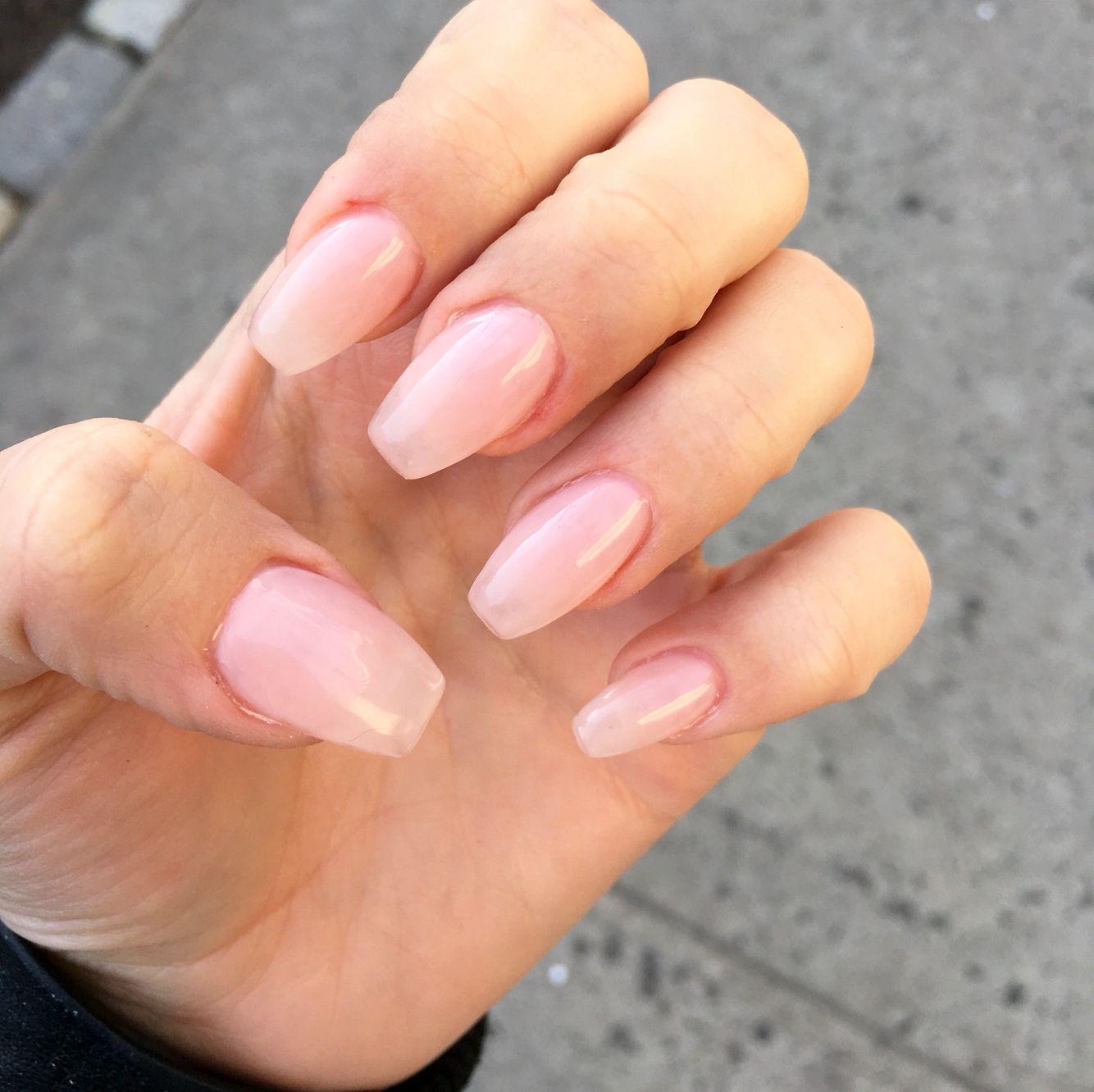 Uv Gel On Natural Nails