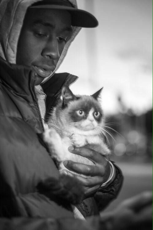 Tyler The Creator and Grumpy Cat Tyler the creator