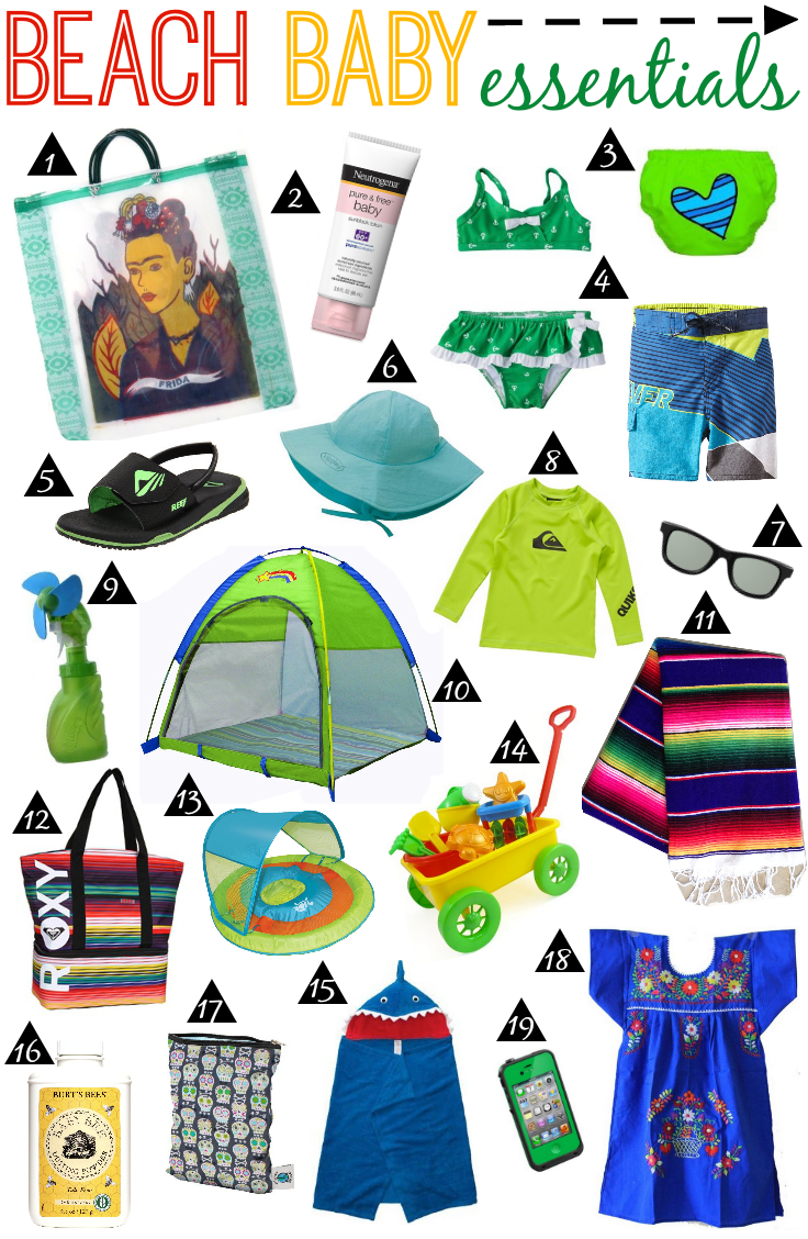 Beach Baby Essentials I M Not A Fan Of The But This Is Adorable