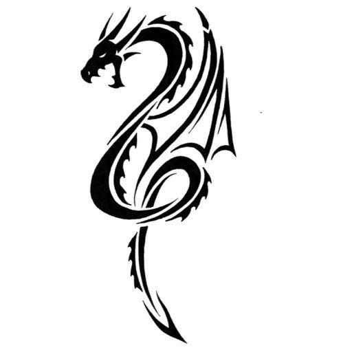 Simple Tribal Dragon Tattoos 32 Simple Tribal Dragon Tattoos Tatuaje De Dragon Tatuajes De Dragon Tribal Dragones Tribales