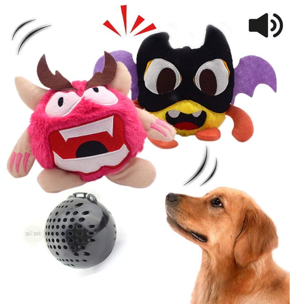 Neilden Dog Toys Interactive Electronic Plush Dog Toys Squeaky