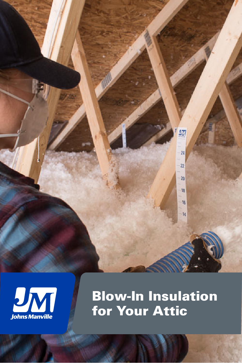 Are You Working With Hard To Insulate Areas Jm Blow In Insulation Provides Complete Coverage To Fill Gaps And Blown In Insulation Attic Insulation Insulation