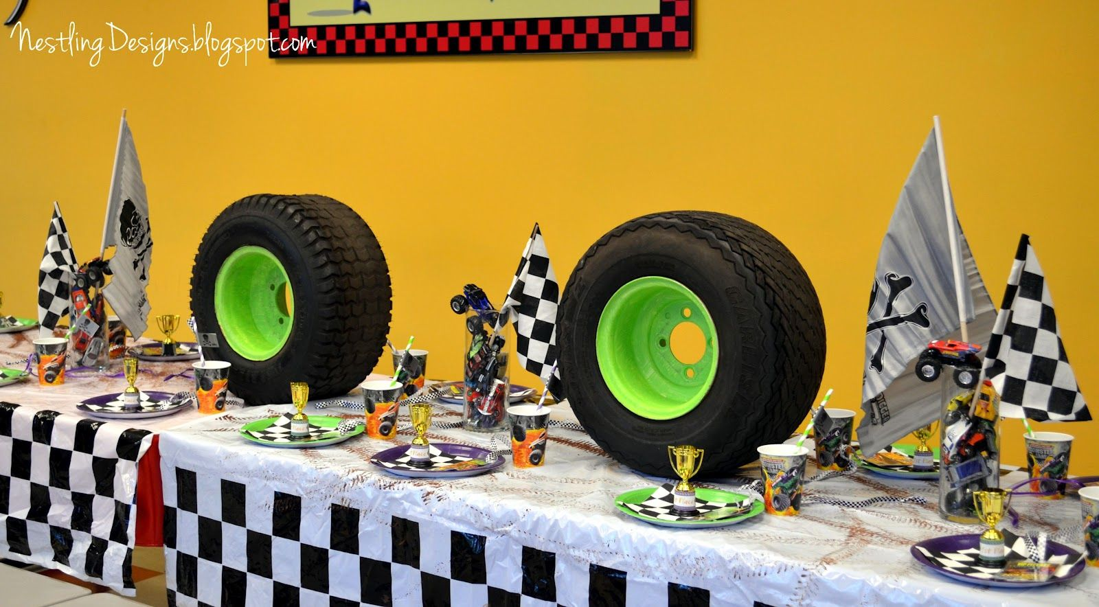 Nestling Search Results For Monster Truck Party
