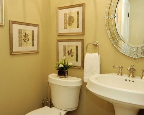 half bathroom decorating idea | home decorating blog magazine