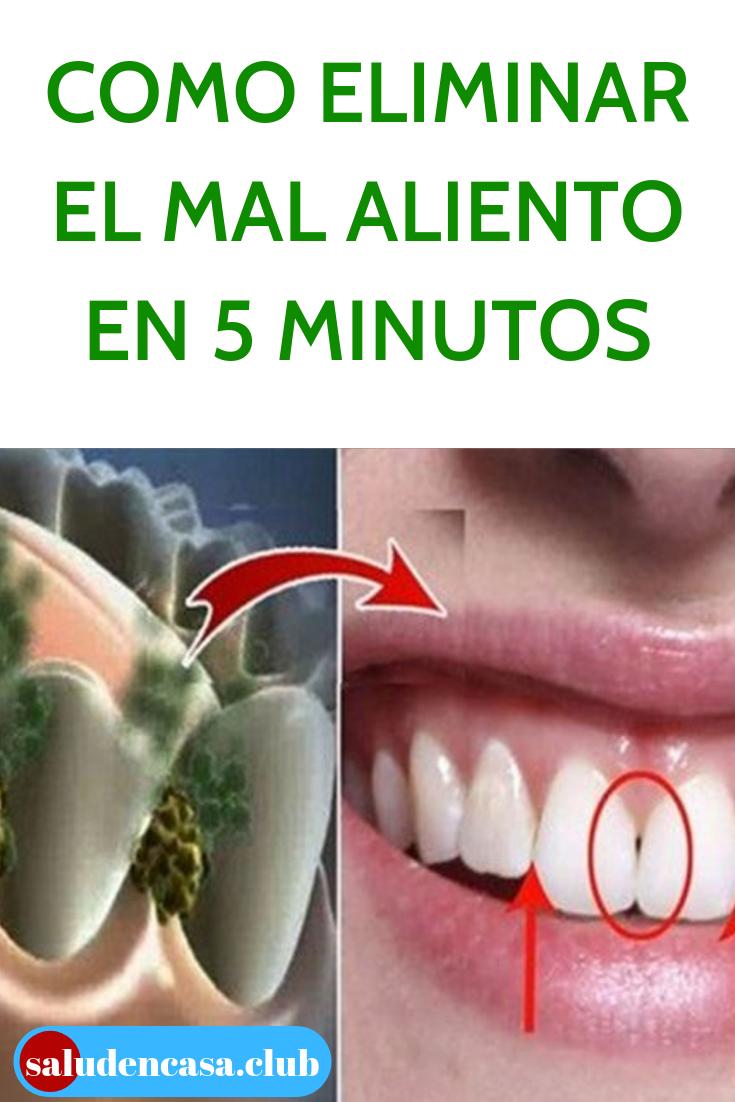 Como Eliminar El Mal Aliento En 5 Minutos Salud En Casa Dental Remedies Health