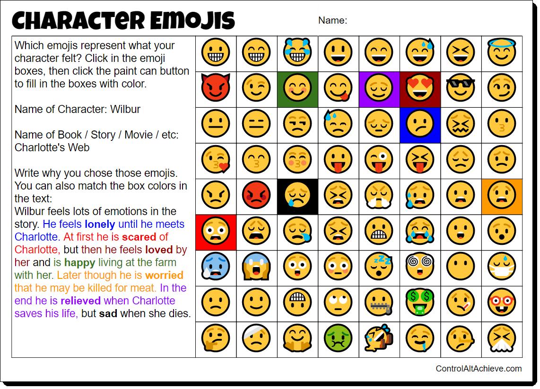 A While Back I Did A Blog Post On The Emoji Random