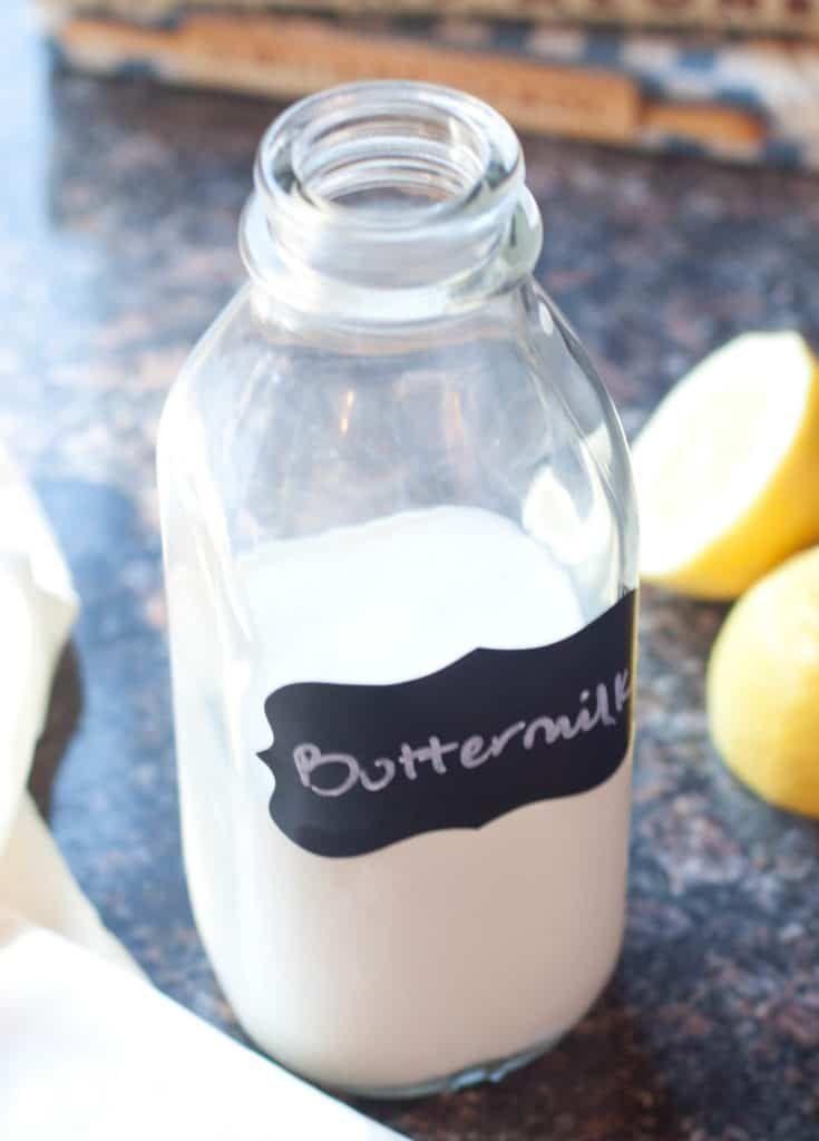 5 Minute Homemade Buttermilk Recipe Homemade Buttermilk Buttermilk Buttermilk Uk