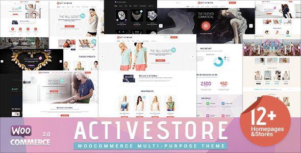 ActiveWear WooCommerce Responsive WordPress Theme . ActiveWear has ...