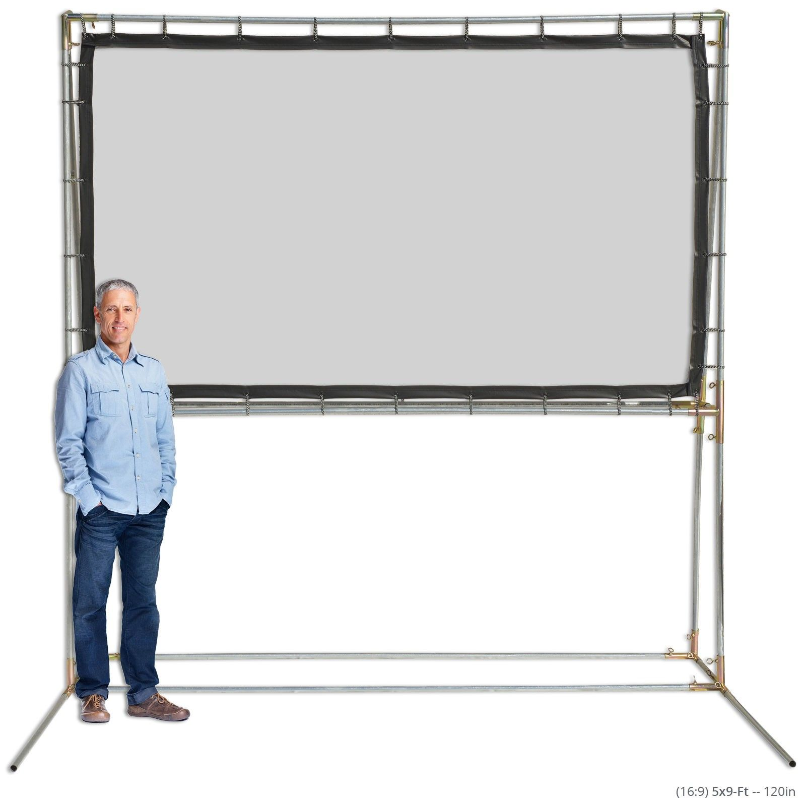 Standing Projection Screen Kits Projector Screen Projector Screen Diy Outdoor Projector