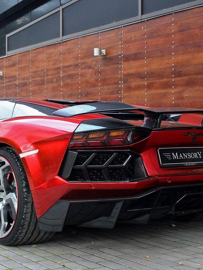 Lamborghini Aventador Carbonado by Mansory