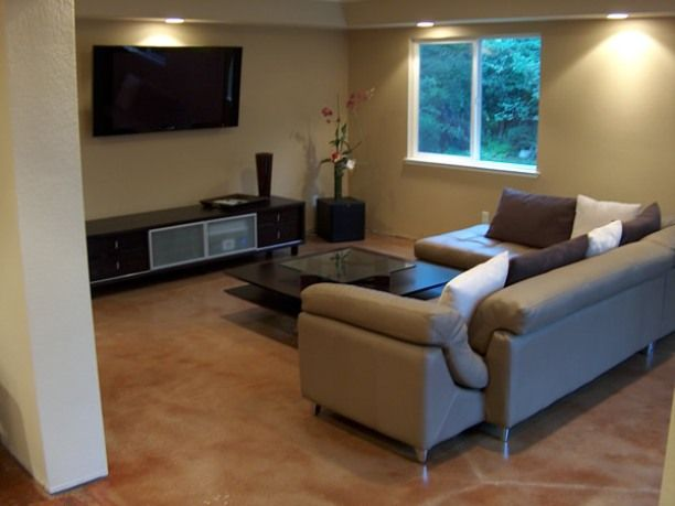how to stain concrete floors inside | Concrete stained ...