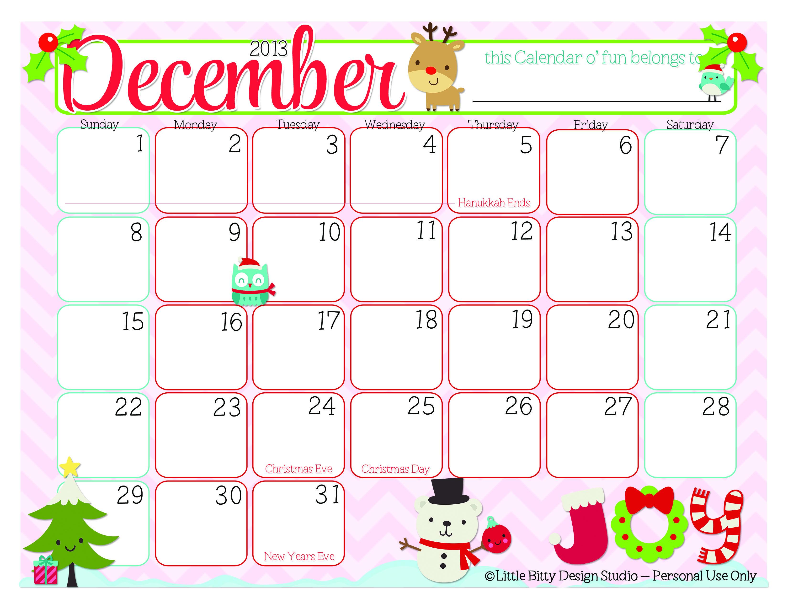 december decorated calenders december 2014 calendar thanksgiving greetingsmelange and why. Black Bedroom Furniture Sets. Home Design Ideas
