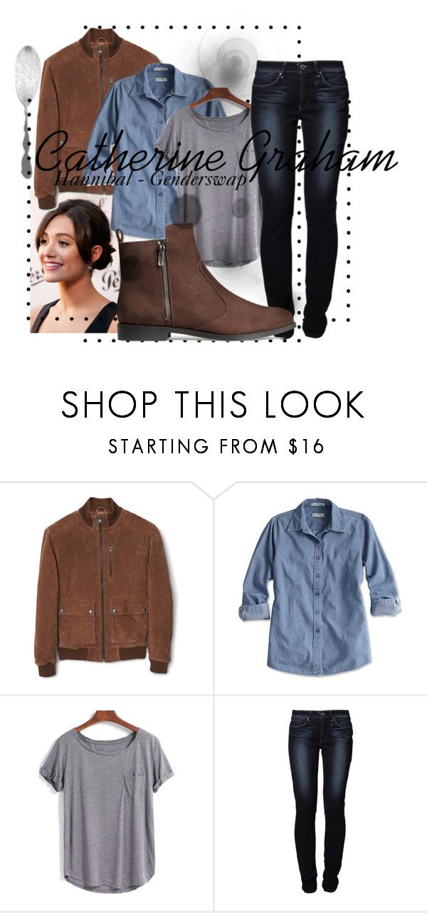 """""""""""Agent"""" Graham"""" by jemma-reardon ❤ liked on Polyvore featuring MANGO, Levi's, H&M, Costume, Hannibal and willgraham"""