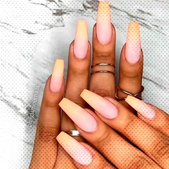 Fashionable Choices for Ombre Nails For Any Event  New Nail Fashions