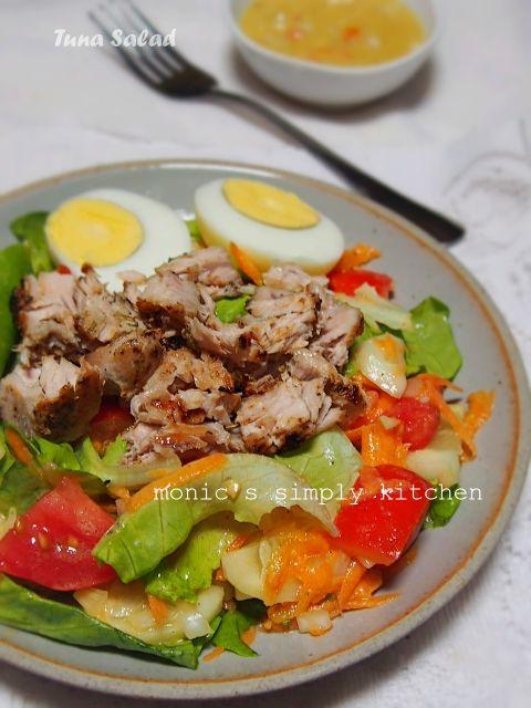 Resep Salad Tuna Monic S Simply Kitchen Resep Salad Resep Makanan Resep Masakan
