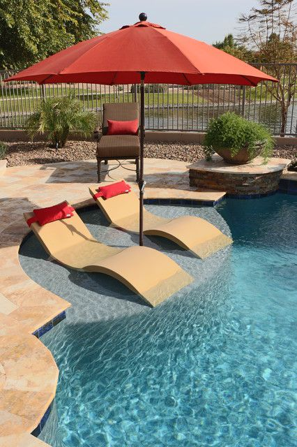 INEXPENSIVE POOL FEATURES TO CONSIDER IN DESIGNING YOUR POOL #backyardremodel