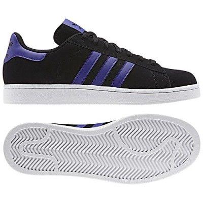 2466fdfc260 Tênis Adidas Men s Campus 2.0 Shoes Black Running White G95558  Tênis   Adidas