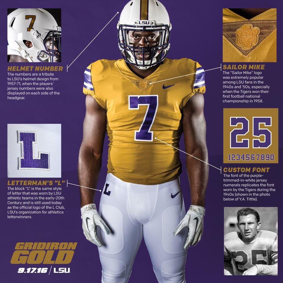 LSU Throwback Uniforms  048323dfc