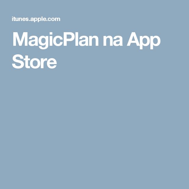 MagicPlan na App Store