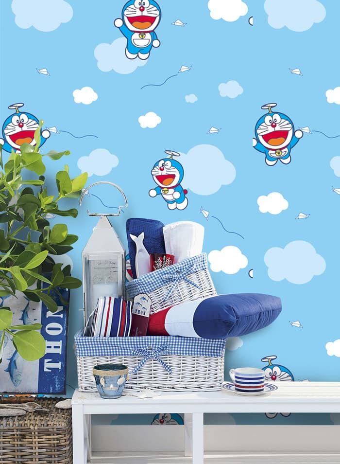 Background Kamar Doraemon Allwallpaper Kids Bedroom Designs Kids Bedroom Design Wallpaper Decor