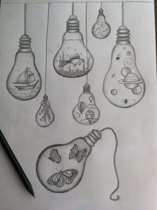 Photo of 45 Niedliche und Einfache Dinge Zu Zeichnen, Wenn einem Langweilig ist – Buzz Hippie – Zeichnen Ideen Blog
