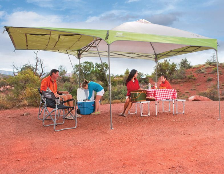 Coleman Instant Canopy | CAMPING PREPARED