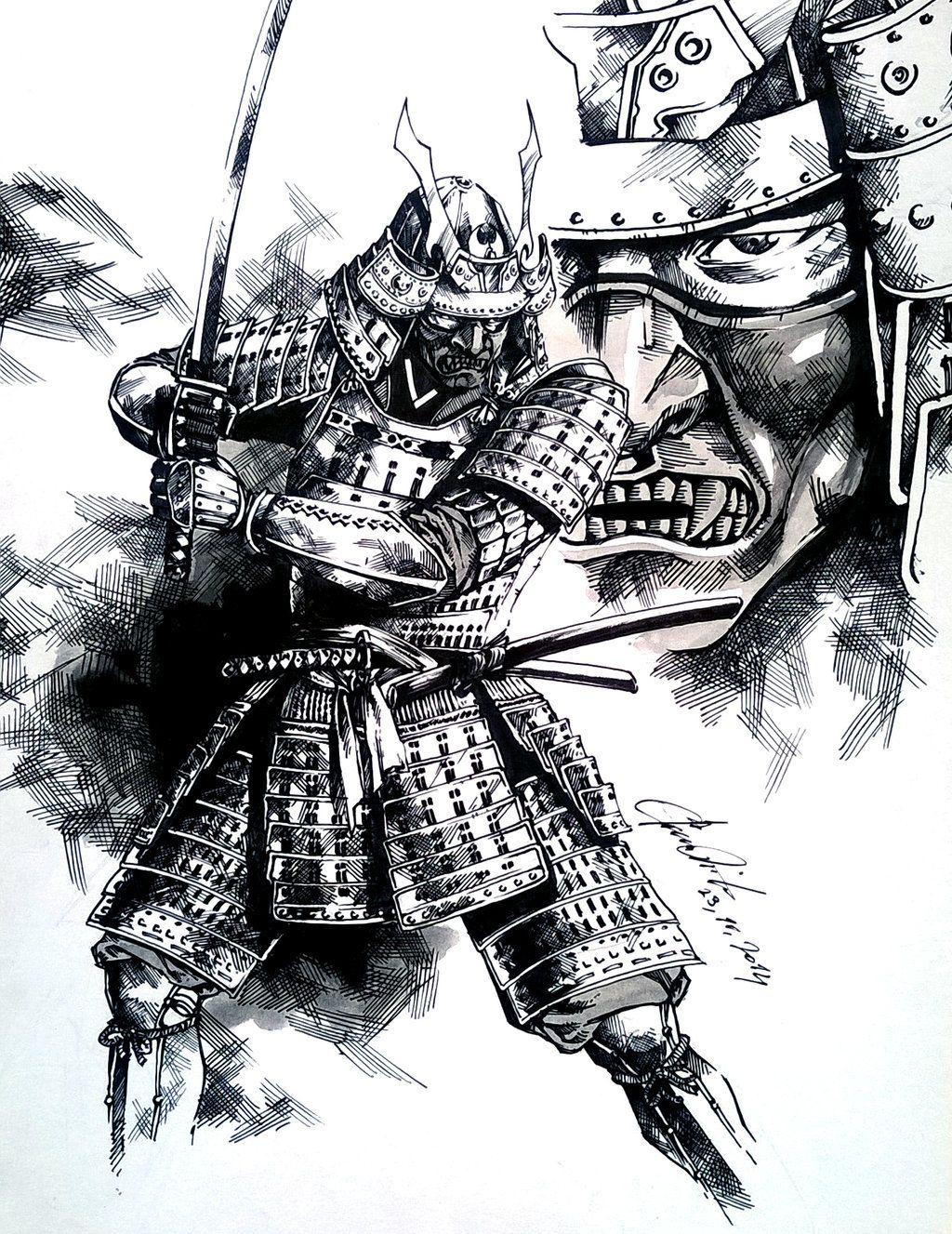 Samurai By Dikeruandeviantartcom On At Deviantart Samurais