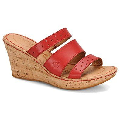 amazon  born marjorie  shoes  red sandals shoes