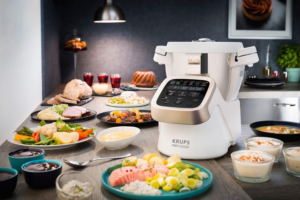 Brot und Brötchen mit der Krups Prep \ Cook HP 5031 so schnell - k chenmaschine mit kochfunktion