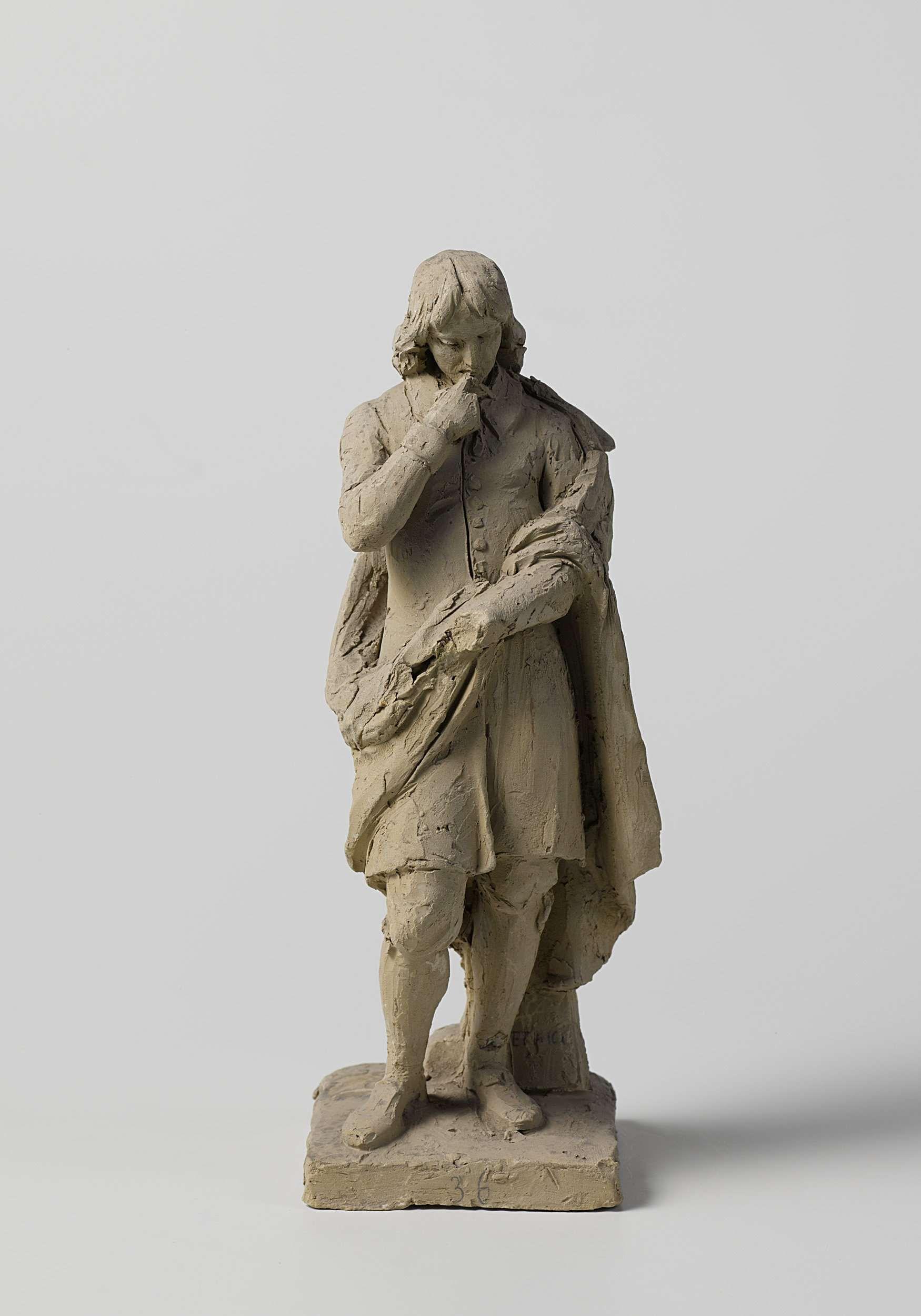 Ontwerp Voor Een Standbeeld Van Spinoza Eugene Lacomble