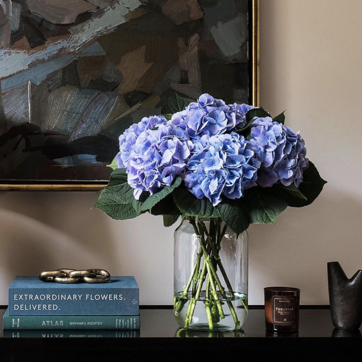 Flowerbx Hydrangeas Hydrangea Flower Delivery Floral Centerpieces