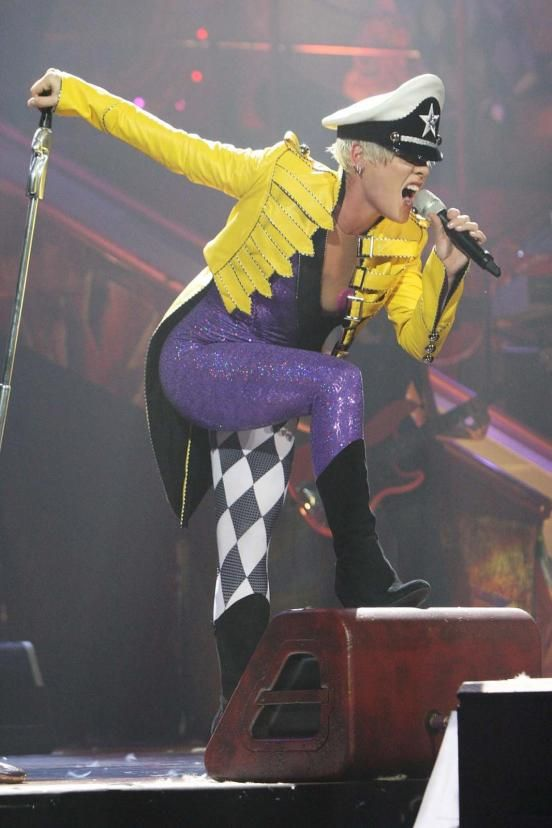 P!nk, Pink Official Tour Photo performing in concert