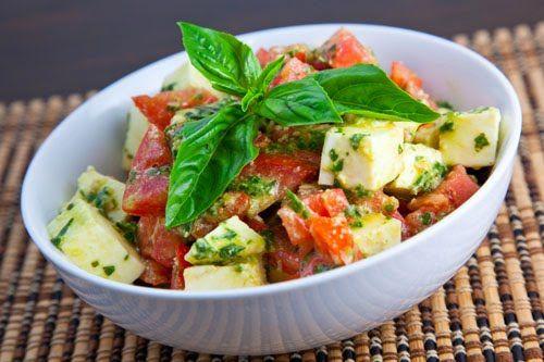 Caprese Salad Recipe With Pesto
