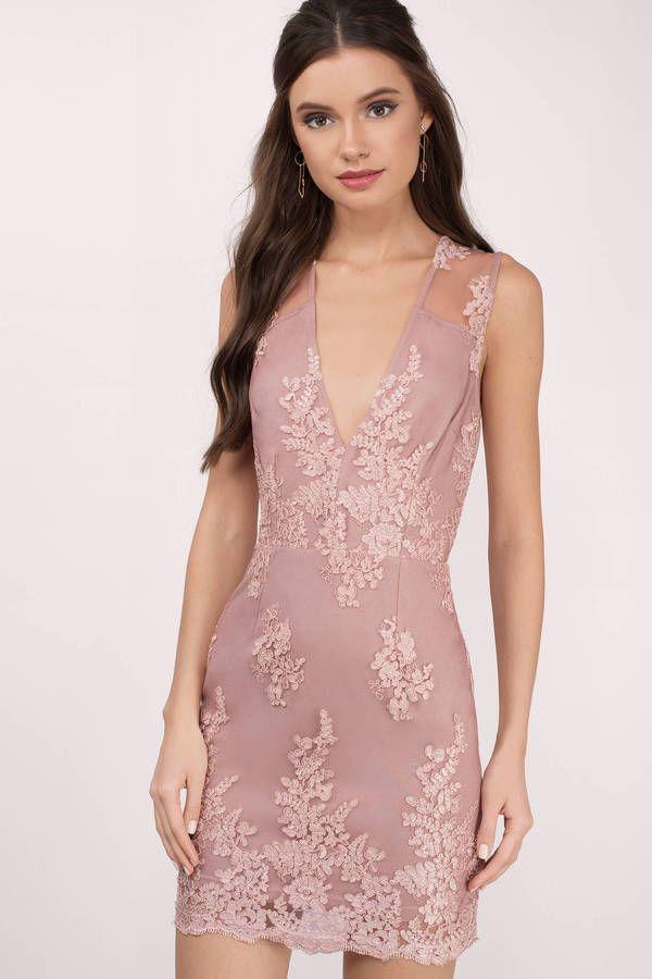 One Night Lace Bodycon Dress | Encaje, Columnas de boda y Columnas