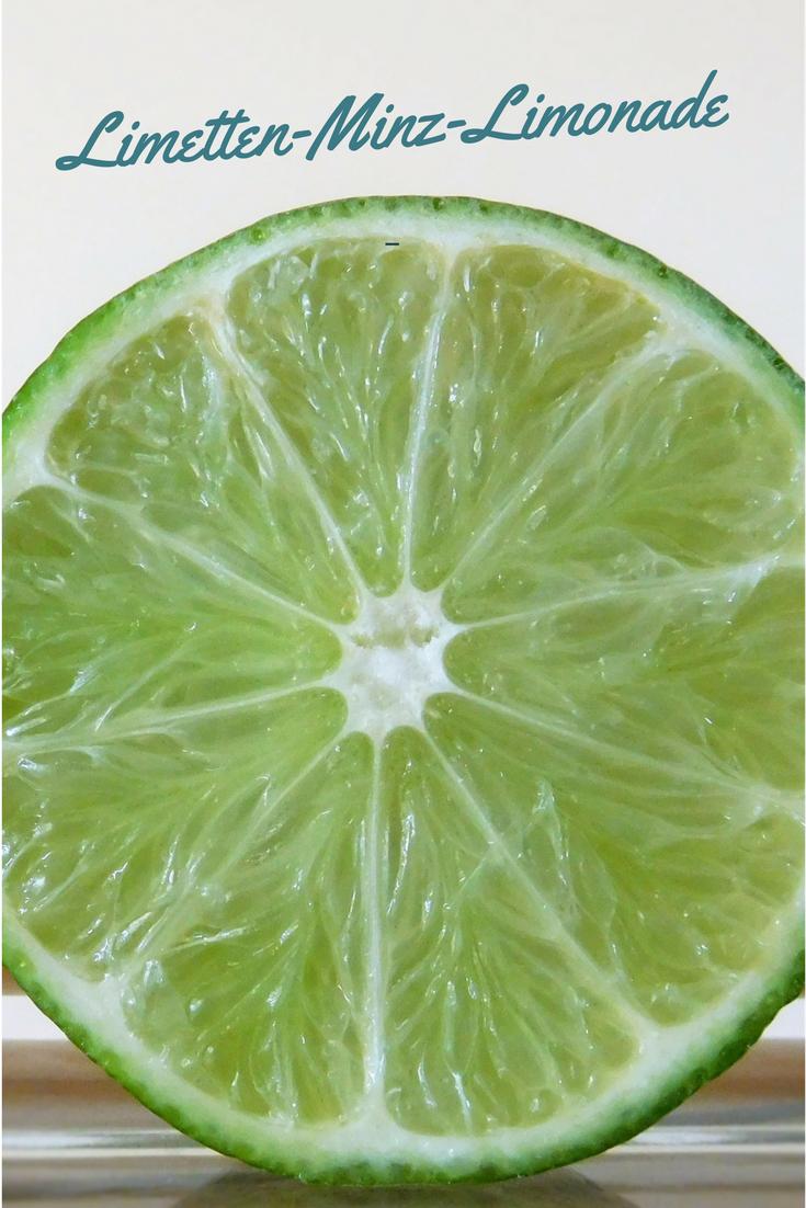 Limonade mit Limette und Minze selbermachen: Einfaches Rezept #easymexicanfoodrecipes