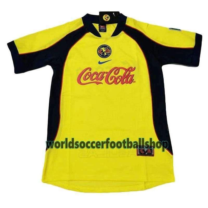 Club América Football club Club Las Águilas Home 2001-02 Replica ...